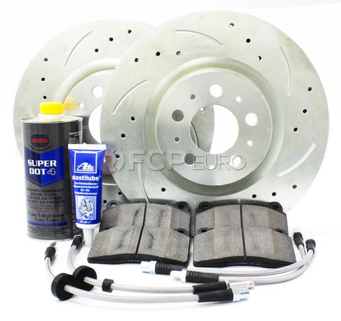 """Volvo Brake Kit Front 13"""" 8 Piece (S60R V70R) - Elevate KIT-P2330FTBK4P8"""