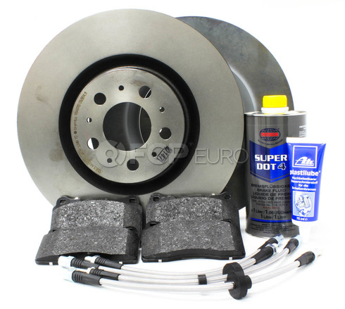 "Volvo Brake Kit Front 13"" 8 Piece (S60R V70R) - Brembo KIT-P2330FTBK2P8"