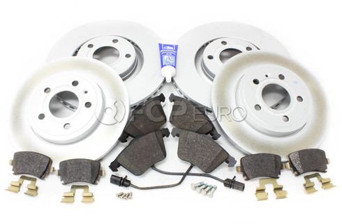Audi Brake Kit Front & Rear (A4 A4 Quattro) - Genuine VW Audi B7A4BRAKE5