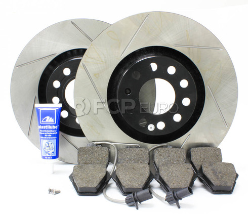 Audi Performance Brake Kit Front (A6 Quattro S4) - Stop Tech/Pagid B5S4FRONTBRK3