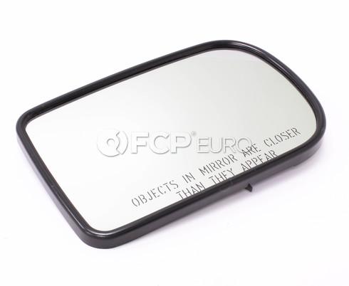 BMW Convex Door Mirror Glass Right (E38) - Genuine BMW 51168227332