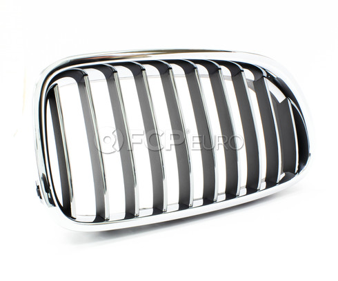 BMW Kidney Grille Right (F10) - Genuine BMW 51137203204