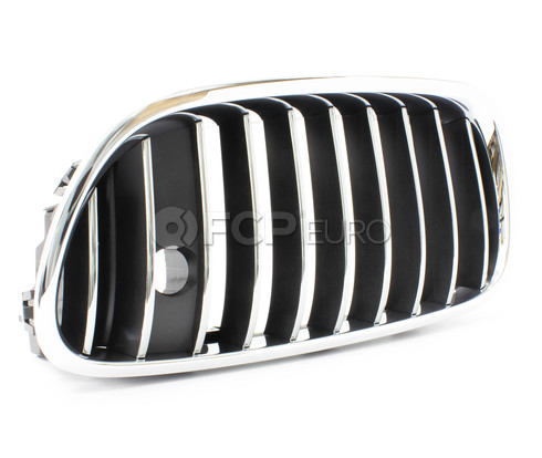 BMW Kidney Grille Left (F10) - Genuine BMW 51137203203