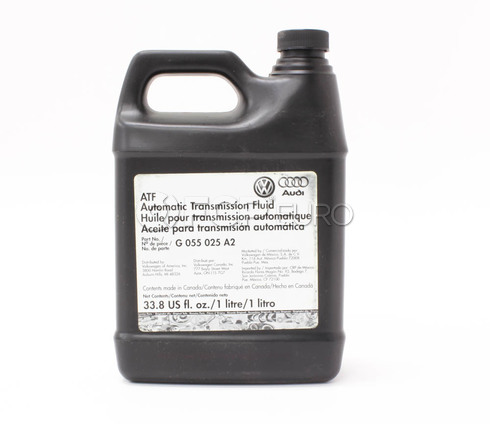 Audi VW Auto Transmission Fluid (1 Liter) - Genuine VW Audi G055025A2