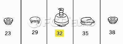 Mercedes Jack Pad (S500 500SEL) - Genuine Mercedes 0029970686