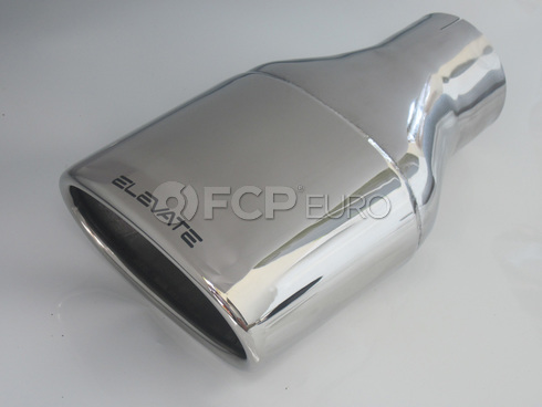 Volvo Exhaust Tail Pipe Oval Tip (S60) - Elevate 210:11001