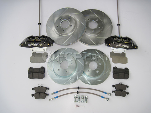 """Volvo Performance Brake Kit 12.6"""" Front and Rear (C70) - Elevate 400:20012"""