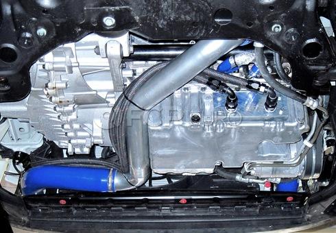 Volvo Performance Engine Oil Cooler (C70) - Elevate 206:10002-BLACK