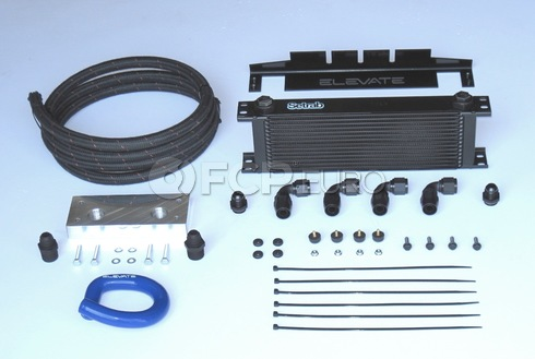 Volvo Performance Engine Oil Cooler (C70) - Elevate 206:10002-BLUE