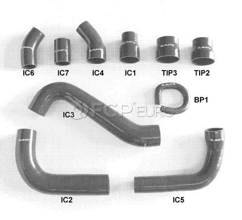 Volvo Performance Turbocharger Intercooler Hose Kit (V50) - Elevate 260:20004-BLACK