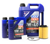 VW Audi Oil Change Kit 5W-40 - Liqui Moly 517435