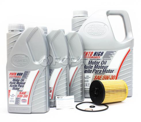 BMW Oil Change Kit (E53 E60 E65 E66) - Pentosin/Mann 11427511161KT1