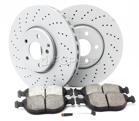 Mercedes Brake Kit Front (S430 S500 4Matic) - Zimmerman W2204FBK1