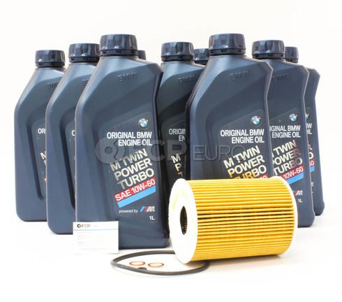 BMW Oil Change Kit 10W-60 - Genuine BMW 11427837997KT