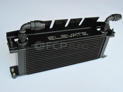 Volvo Performance Engine Oil Cooler Black (S40) - Elevate 206:10003-BLACK