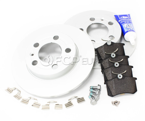 Audi Brake Kit Rear (TT Quattro) - Meyle/Genuine TTREARBKMEY