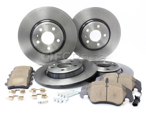 Audi Brake Kit (A4 A5 Q5) - Brembo/Genuine Audi B8BRAKEBRE