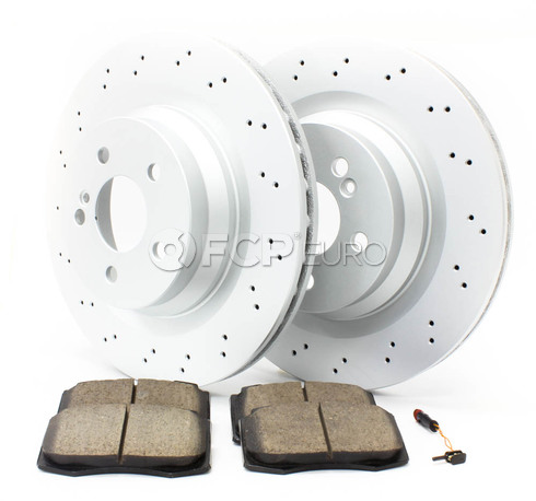 Mercedes Brake Kit - Zimmermann W211AMGRBK1