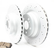 Mercedes Brake Kit - Akebono W211AMGRBK1