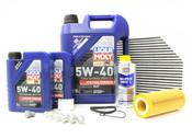 Audi 5W40 Synthetic Service Kit (B8 A4 3.2L) - Liqui Moly/Mann A4B8SERVICE32V6