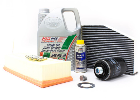 Audi VW 5W40 Synthetic Service Kit 2.0T - Pentosin/Mann 5W40 SyntheticSERVICE20T2