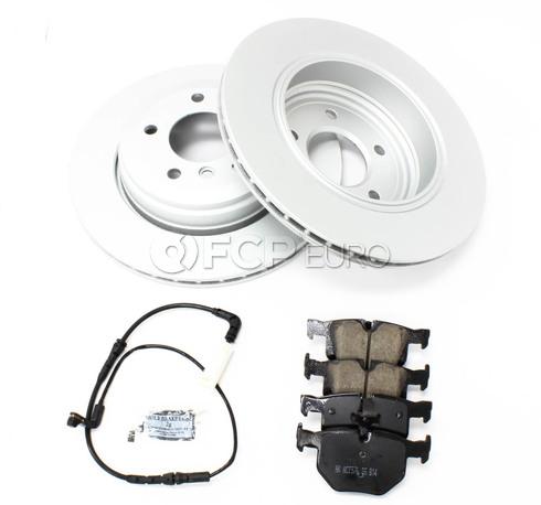 BMW Brake Kit Rear (E60) - Meyle/Akebono 34216864061KTR