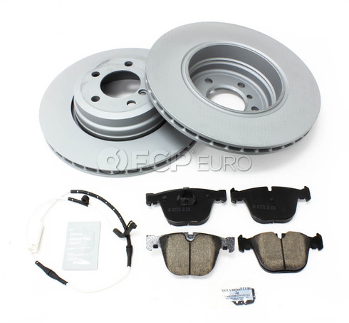 BMW Brake Kit Rear (E65 E66) - Zimmermann/Akebono 34216864054KTR2