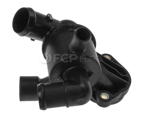 Audi VW Engine Coolant Thermostat Housing (A3 Golf Jetta) - Mahle Behr 03L121111AC