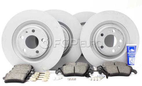 Audi Brake Kit Front & Rear (B8 S4 S5) - Zimmermann/Textar B8S4BRAKEFR1