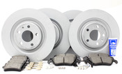 Audi VW Brake Kit - Zimmermann/Textar B8S4BRAKEFR1