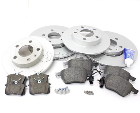 Audi Brake Kit Front & Rear (A4 Quattro) - Meyle/Textar B6BKMEY