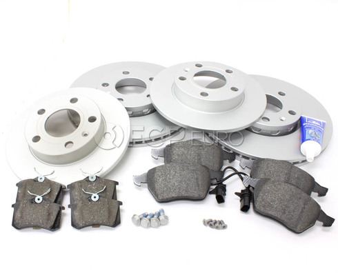 Audi Brake Kit - Meyle/Textar B6BKMEY