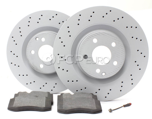 Mercedes Brake Kit Front (CL550 S550) - Zimmerman W221FBK1
