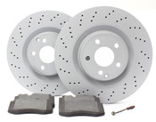 Mercedes Brake Kit - Zimmermann W221FBK1