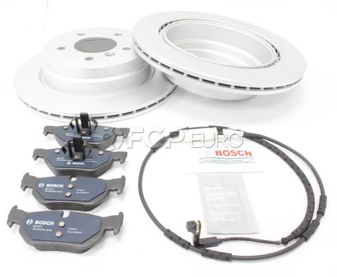 BMW Brake Kit Rear (E90 E92 E91 E93) - Bosch QuietCast 34216864901KTF2
