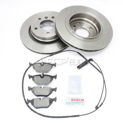 BMW Brake Kit Rear (E46) - Bosch QuietCast 34216778168KT3