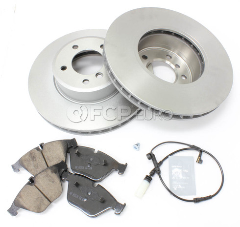 BMW Brake Kit - Meyle/Akebono 34116864906KTF2