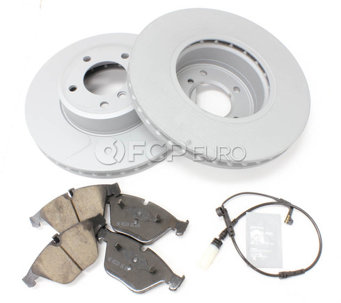 BMW Brake Kit Front (E61) - Zimmermann/Akebono 34116864905KTF1