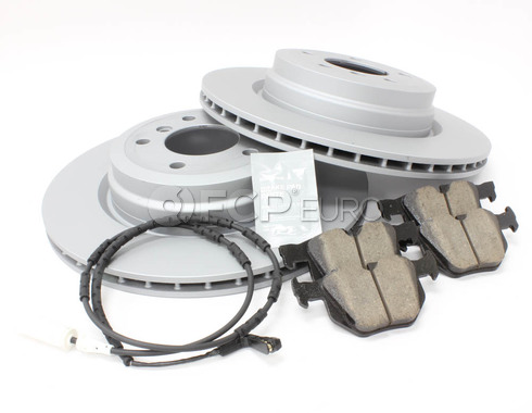 BMW Brake Kit Rear (E90 E92 E93) - Zimmermann/Akebono 34216855004KT3