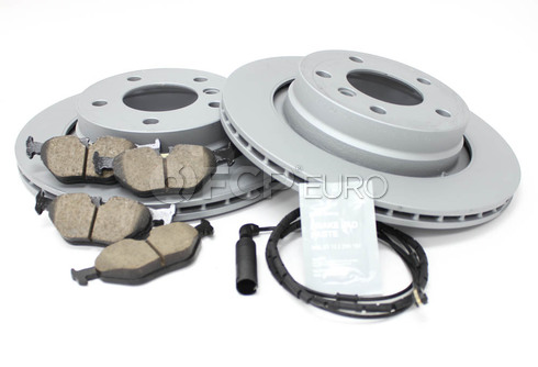 BMW Brake Kit Rear (E46) - Zimmermann/Akebono 34216778168KT2