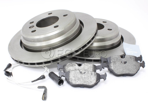 BMW Brake Kit Rear (E39) - Bosch QuietCast 34216767060KT7