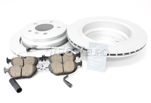 BMW Brake Kit Rear (E39) - Meyle/Akebono 34216767060KT5