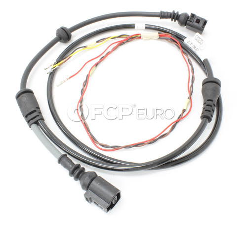 Audi ABS Wheel Speed Sensor Wire Harness Front (A6 Quattro A6 S6) - Genuine VW Audi 4F0972252
