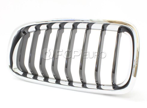 BMW Kidney Grille Left (F30) - Genuine BMW 51137260497