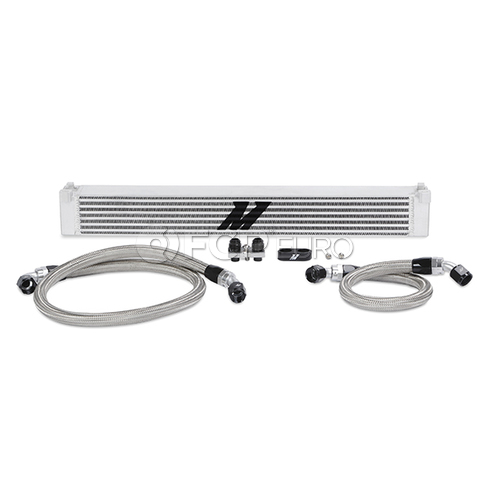 BMW High Performance Oil Cooler Kit (E46 M3) - Mishimoto MMOC-E46-01