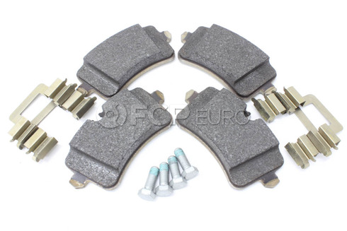 Audi Disc Brake Pad Rear (A8 Quattro) - Genuine VW Audi 4H0698451D