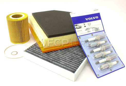 Volvo Maintenance Kit (XC60 V70 XC70 S80) - Mann KIT-P3TUNE32EARLY2KT2