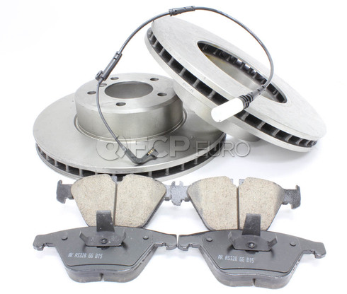 BMW Brake Kit Front (E60 E61) - Bosch QuietCast 34116864906KTF3