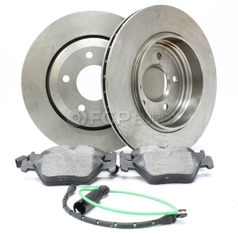 BMW Brake Kit Rear (E46 330i 330ci 330xi) - Bosch QuietCast 330BKREAR3