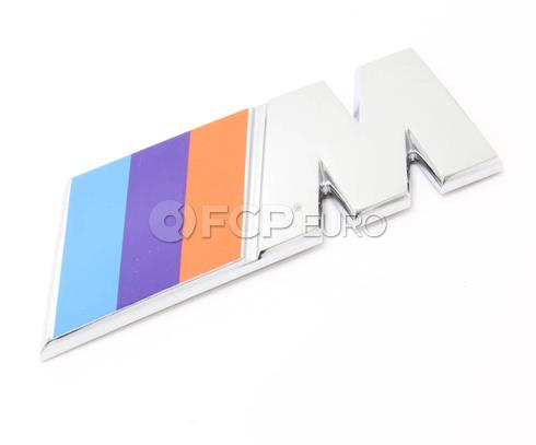 BMW M Emblem - Genuine BMW 51142250811